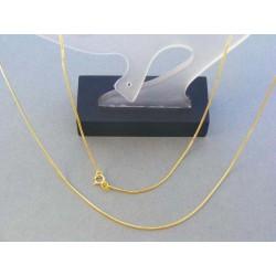 Zlatá retiazka dámska vzor lánko žlté zlato DR55300Z
