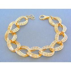 Zlatý náramok vzorovaný žlté zlato  VN241558Z 585/1000 15.58g