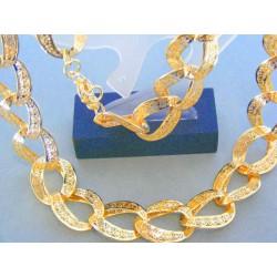 Zlatá retiazka náhrdelnik žlté zlato VR553694Z 585/1000 36.94g