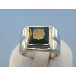 Pánsky prsteň ch. oceľ kameň DPO621698 316L 16.98g