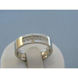 Dámsky prsteň ch. oceľ kamienky zirkónu DPO58518 925/1000 5.18g
