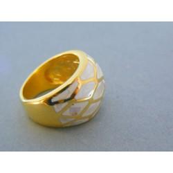 Dámsky prsteň ch. oceľ farebné prevedenie DPO581124 316L 11.24g