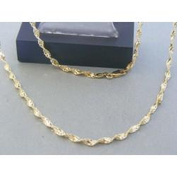 Zlatá retiazka žlté zlato točený vzor DR55617Z 14 karátov 585/1000 6.17g