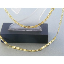 Zlatá retiazka žlté zlato platničky DR425270Z 14 karátov 585/1000 2.70g