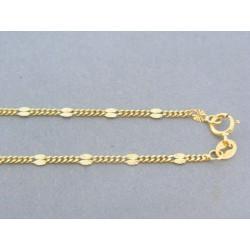 Zlatá retiazka žlté zlato zdobená DR495247Z 14 karátov 585/1000 2.47g