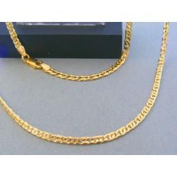 Zlatá retiazka žlté zlato očká DR5551230Z 14 karátov 585/1000 12.30g