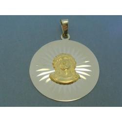 Zlatý prívesok Ježiš VI800Z 14 karátov 585/1000 8.00g