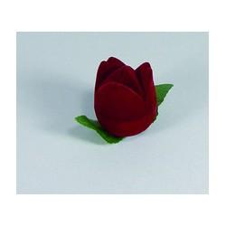 Krabička zamatová tvar ružičky FU57