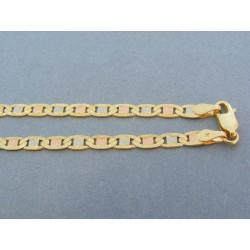f0abc460c Zlatá retiazka trojfarebné zlato DR42781V