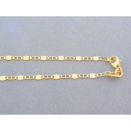8723edab7 Zlatá retiazka žlté zlato plné očká s voľnými VR425238Z