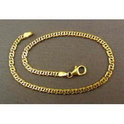 Zlatý náramok žlté zlato poprepletané očká VN22627Z