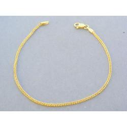 01fd93cc4 Pekný zlatý náramok žlté zlato VN18177Z