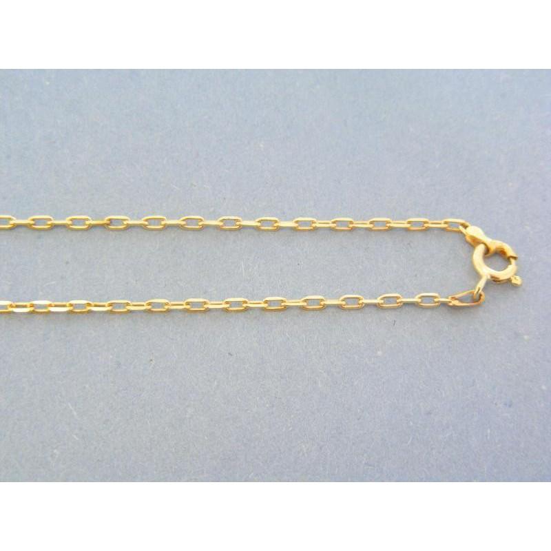 9b4b196ef Zlatá retiazka žlté zlato vzor pílka VR92712Zzl