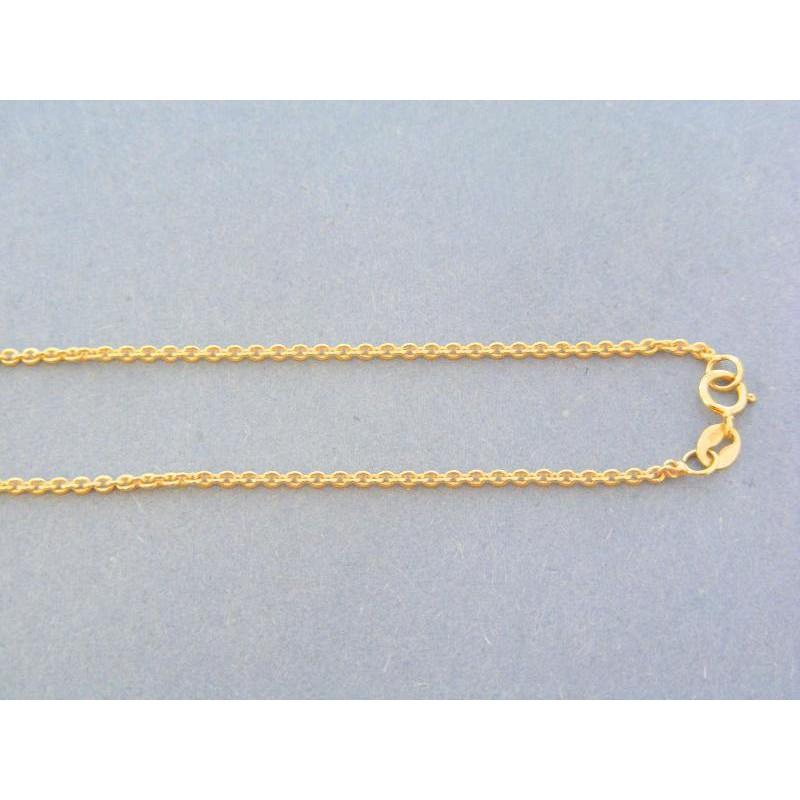 ab7a90392 Zlatá retiazka žlté zlato vzor pílka VR455298Za