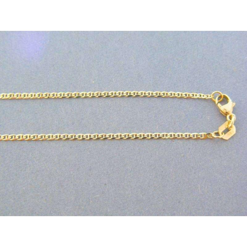 973ee13ad Zlatá retiazka žlté zlato oválne očká predelené VR45226Zpr