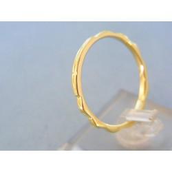 Zlatý prsteň ruženec žlté zlato DP67280Z