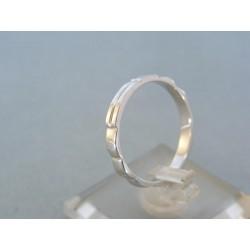 Zlatý prsteň ruženec biele zlato DP60266B