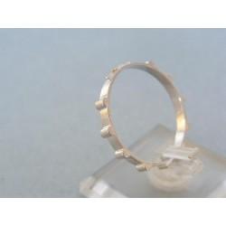 Zlatý prsteň ruženec biele zlato VP67248B