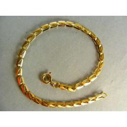 Zlatý náramok žlté zlato všetky rovnáke očka VN19315Z