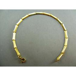 Zlatý náramok polo-pevný žlté zlato DN19343Z