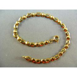 Zlatý náramok dámsky v žltom zlate DN185287Z