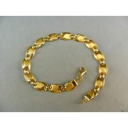 Zlatý náramok plné očka luxusný VN195533