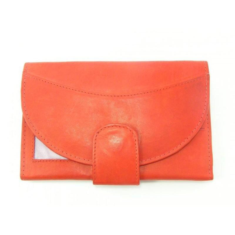 Dámska peňaženka kožená červená farba VGALANA092R. Loading zoom 574fe076e9a