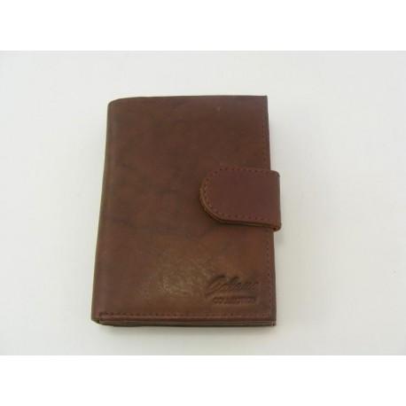 Dámska peňaženka GALANA kožená hneda farba V006A2 66e66115afe