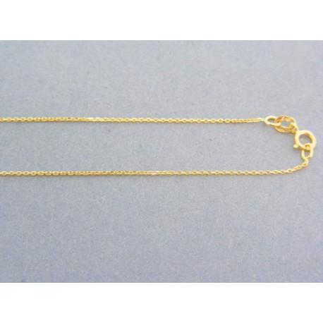 Zlatá retiazka žlté zlato jemný ručný vzor DR42084Z