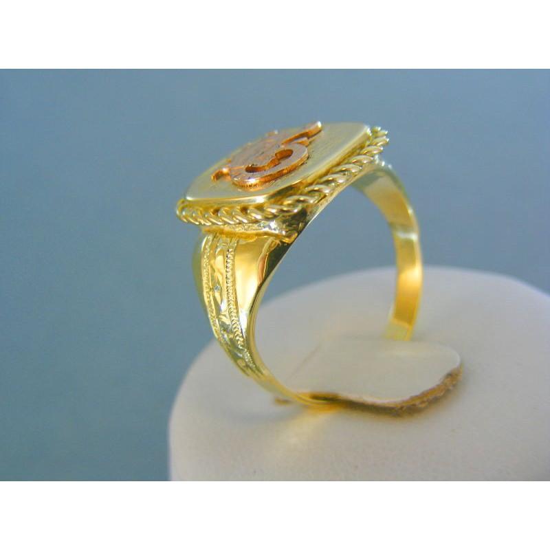 Zlatý pánsky prsteň žlté červené zlato znamenie škorpión DP63779V. Loading  zoom 41030207134