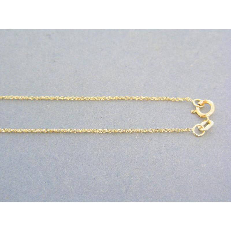 cb280074b Zlatá jemná retiazka žlté zlato DVR45081Z. Loading zoom