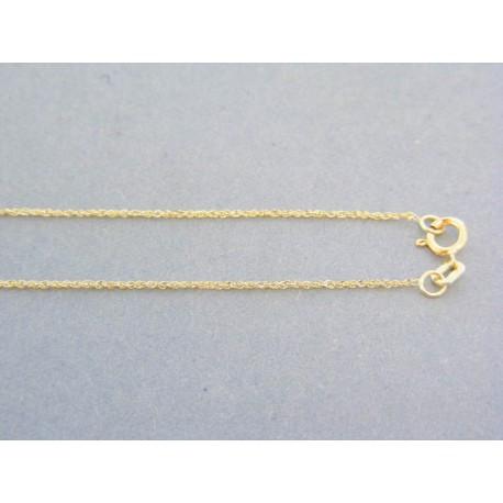 4fba27b8c Zlatá dámska retiazka jemný vzor žlté zlato VDR50090Z