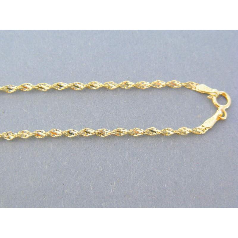 adce97493 Zlatá retizka žlté zlato točená VR51287Z 14 karátov 585/1000 2.87g. Loading  zoom