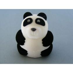 Zamatová krabička panda D350