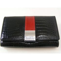 Dámska peňaženka čierna koža D03-04Nero
