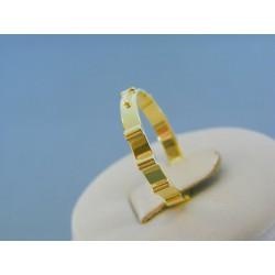 Zlatý prsteň ruženec žlté zlato DP57229Z 14 karátov 585/1000 2.29g