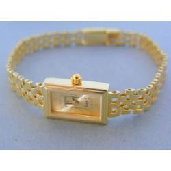 Zlaté náramkove hodinky GENEVA 990/1 14 karátov 585/1000