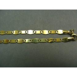 Zlatá retiazka vzor žiletka VR455624