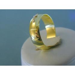 Zlatý prsteň ruženec žlté červené zlato DP63586Z 14 karátov 585/1000 5.86g