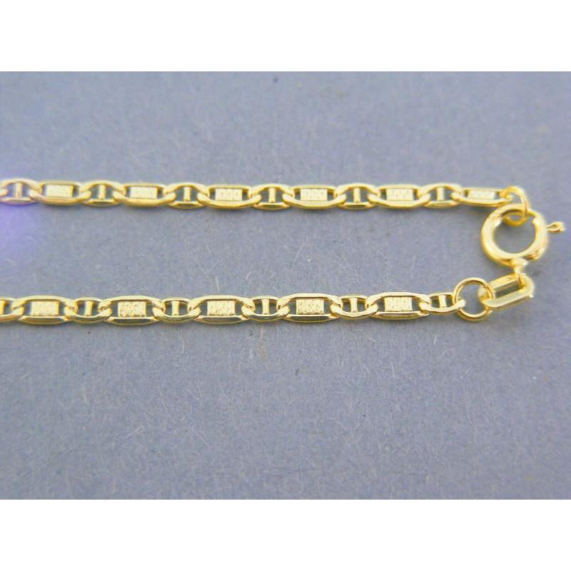 d8ddf0e94 Zlatá retiazka platničky očká žlté zlato DR40167Z 14 karátov 585/1000  1.67g. Loading zoom