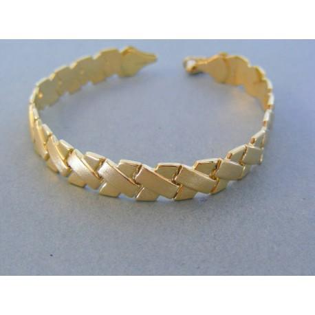 bdf2123bd Zlatý dámsky náramok elegantný žlté zlato DN18727Z 14 karátov 585/1000 7.27g