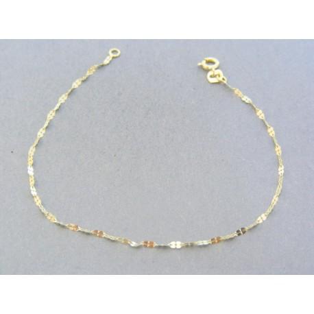 74261969a Zlatý dámsky náramok žlté zlato zdobený VDN18055Z 14 karátov 585/1000 0.55g