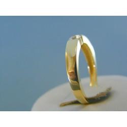 c50b11f90 Zlatý dámsky prsteň žlté zlato zirkón DP54284Z 14 karátov 585/1000 2.84g