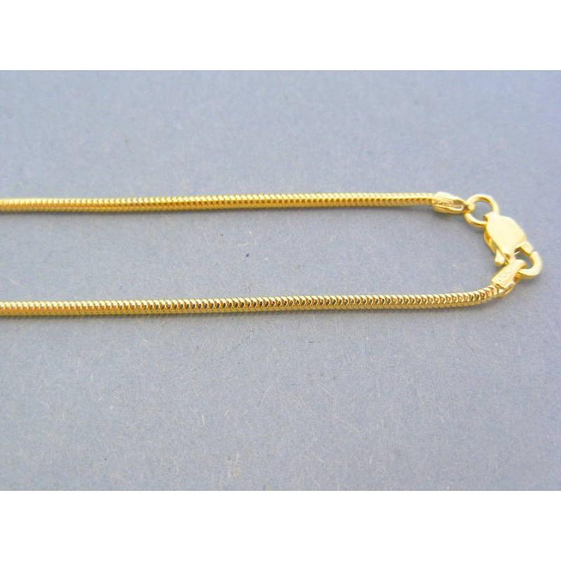 a94110e21 Zlatá retiazka žlté zlato vzor lanko DR45300Z 14 karátov 585/1000 3.00g.  Loading zoom