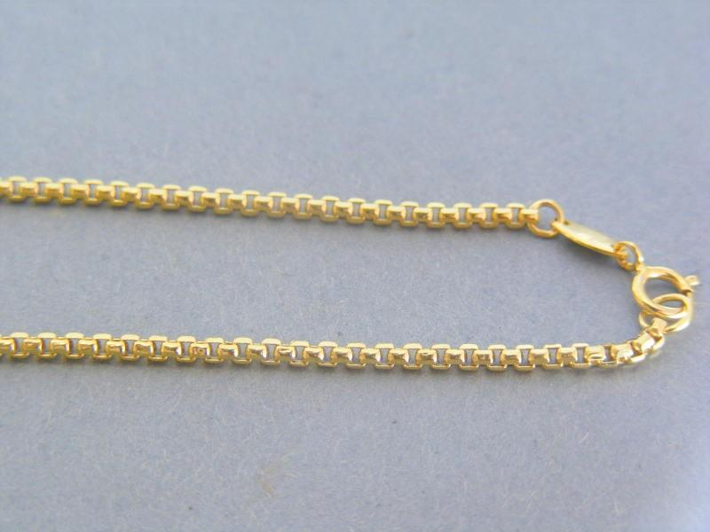 dc61e875c Zlatá retiazka žlté zlato očká VR45296Z 14 karátov 585/1000 2.96g. Loading  zoom