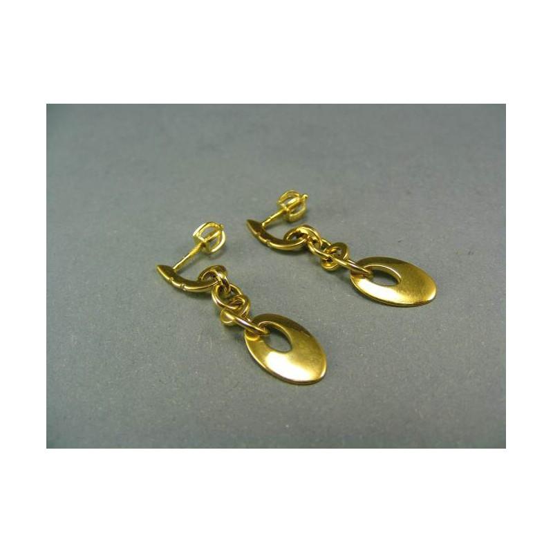 61f47877d Zlaté náušnice žlté zlato visiace   I-Zlato.sk