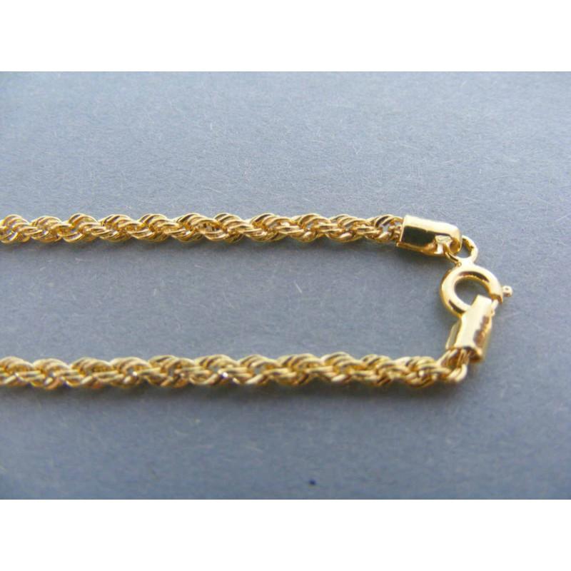 be2c466be Zlatá dámska retiazka točená DR50263Z 14 karátov 585/1000 2.63g. Loading  zoom