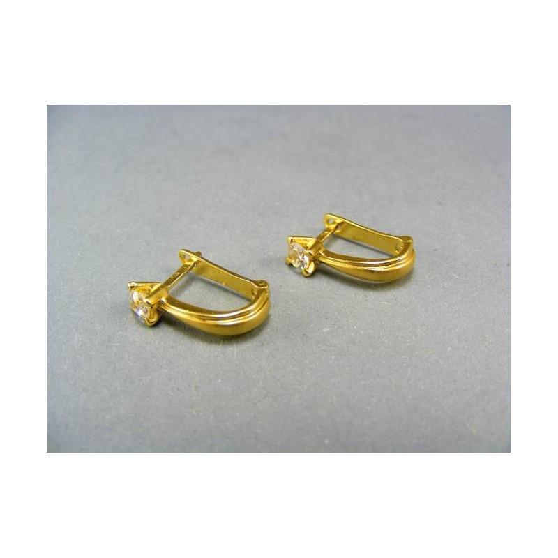 eaa1faa75 Zlaté náušnice zo žltého zlata. Loading zoom