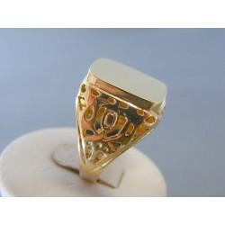 Zlatý pánsky prsteň vzorovaný VP66814Z 14 karátov 585/1000 8.14g