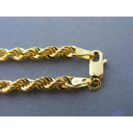 1dbd09e04 Zlatá dámska retiazka točená žlté zlato DR60710Z 14 karátov 585/1000 7,10g. Loading  zoom